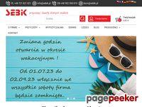 Sebik Chojnice - transport, sprzedaż, wypożyczalnia przyczep i lawet