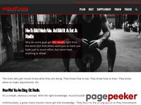 Muscle Building, How to Build Muscle, Muscle Building Workout Program