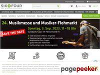 Das Musikfachgeschäft mit Online-Shop-Six & Four