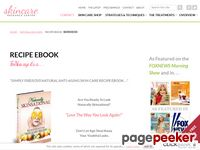 Simple Skin Care Recipe Ebook – Natural Anti-Aging Skin Care