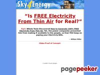 Sky 4 Energy - Powering Your Home for FREE with FREE Energy From the Sky!