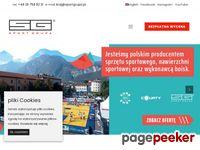 Sprzęt sportowy - producent sprzętu sportowego Sport Grupa sp.