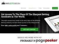 Sports Betting Systems & Picks by Rich Allen - Sports Betting Professor