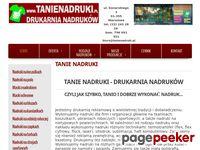 Agencja Reklamowa Tanie Nadruki - Warszawa