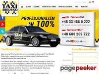 Taxi Bielsko - najtańsze Taxi w Bielsko- Białej