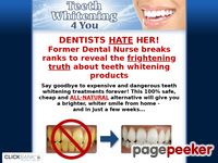 Give your teeth a white makeover!