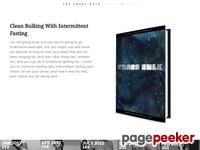 The Chaos Bulk and Intermittent Fasting by Anthony Mychal