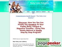 The Fatty Liver Solution