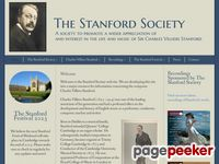 Website for The Stanford Society