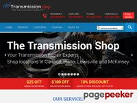 Dallas Transmission Repair | Lewisville, Plano, Garland, McKinney TX | THE TRANSMISSION SHOP