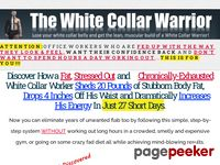 The White Collar Warrior – The White Collar Warrior Workout – How to Lose Belly Fat Fast