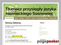 http://www.tlumaczniemieckisosnowiec.pl