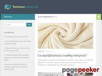 Zrzut ekranu http://www.tomaszlacki.pl