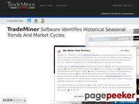 TradeMiner – Historical Seasonal Trends And Market Cycles