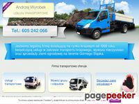 Firma transportowa Andrzej Wyrobek