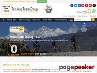 TREKKING TEAM GROUP: 22 YEARS EXPERIENCE IN OPERATING TREKKING AND TOURS AROUND THE HIMALAYAS