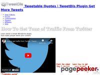 Tweetable Quotes, Click To Tweet Links - TweetDis Plugin