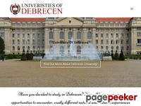 University of Debrecen :: Medical School and Health Science Center
