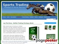 My Lay The Draw Betfair Trading Strategy Revealed – New Product – Betfair Trading