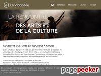 Centre culturel Vidondée (Riddes) - A visiter!