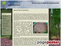 Wald-und-Forst.de - Wissen rund um Wald und Forstwirtschaft