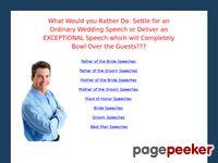 Wedding Speeches for All – Wedding Speeches