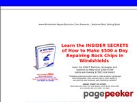Windshield-Repair-Business.com - Auto Glass Repair Business - Marketing Windshield Repairs