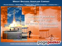 Home Page for the Wright Brothers Aeroplane Company and wright-brothers.org