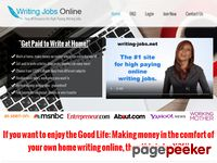 Writing Jobs - How To Get Paid To Write Articles Online