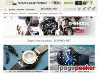 Sklep Internetowy ZEGAREK.NET Zegarki: Timex,  Adriatica, Casio