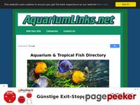 A Web directory for aquarium and tropical fish sites.