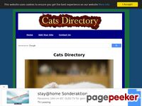 A new directory for cats - add your cat site for free!