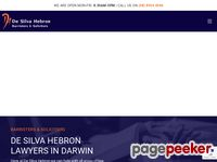 De Silva Hebron Website