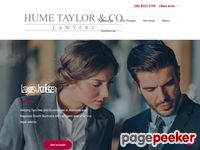 Hume Taylor & Co. Website