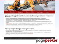 Maszyny budowlane Gorzów