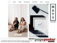 Matt Sport + Mode