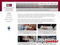 Murray & Lyons Solicitors Website