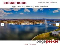 O'Connor Harris Website