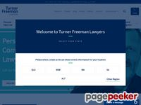 Turner Freeman Website