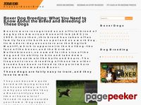 Boxer breeders and Agility Club