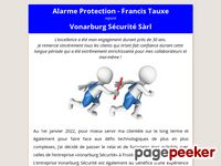 Alarme Protection (Apples) - A visiter!