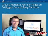 Fan Page Robot - Increase Followers - Facebook autoposter, Pinterest automation, auto post to Google+, Twitter bot
