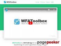 WFAToolbox - Walk-Forward Analysis Toolbox - Algorithmic Trading Toolbox for MATLAB