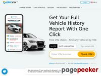 Order a car history report and get cheap and fast VIN number check - EpicVin