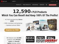 12,500+ PLR Products; eBooks, Software, Videos, Articles and more!