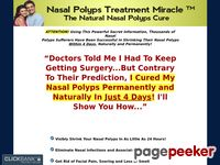 Nasal Polyps Treatment Miracle™ - The Natural Nasal Polyps Cure