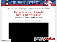 The Patriot Privacy Kit Video - Patriot Privacy