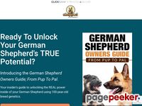German Shepherd Owners Guide; From Pup To Pal - Shepped.com