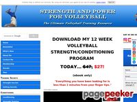 Volleyball Training Programs - #1 World Wide Volleyball Strength Program