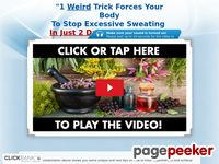 Sweat Miracle™ How to treat hyperhidrosis. (Excessive Sweating)